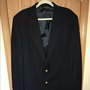 Brooks Brothers Brooksease Blazer Gold Buttons
